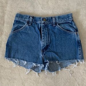 Pants - Highwaisted  Festival Jean Shorts